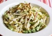 Asian Style Apple Jicama Coleslaw