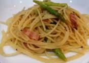 Bacon And Asparagus Noodles