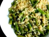 Quick Chicken And Asparagus Risotto