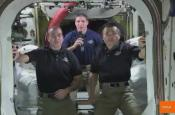 Astronauts Congratulate 'gravity' On Seven Oscar Wins
