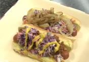 Georgia Hot Dogs And West Virginia Hot Dogs With Coleslaw