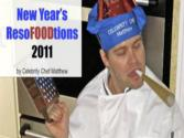 New Year's Resofoodtions By Celebrity Chef Matthew [audio Book]
