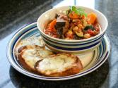 Autumn Vegetable Stew With Cheese Toasts