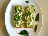 Avocado & Feta On Toast