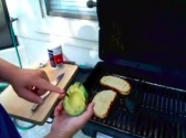 Grilled Avocado Sandwich