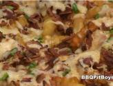 Barbecued Bacon And Cheese Fries