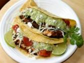 Baja Fish Tacos With Avocado Cream Sauce By Rockin Robin