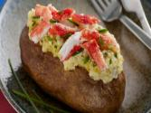 Baked Idaho® Potato With Alaskan King Crab & Gouda
