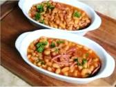 Baked Beans And Beef Bacon