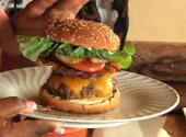 Super Bowl Recipes: Stuffed Bacon Cheddar Burgers &amp; Baked Ginger Sesame Wings (cooking With Carolyn)