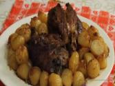 Baked Pork Shank With Potatoes ( Stinco Al Forno Con Patate )