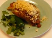 Baked Potato With Taco Topping