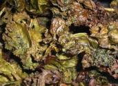 Baked Salted Kale Chips