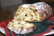 Baked Stollen Bread