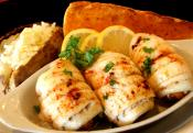 Baked Fish With Orange Stuffing