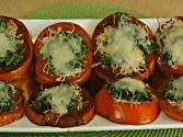 Balsamic Tomatoes With Spinach