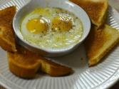 "Baked Or ""shirred"" Eggs"