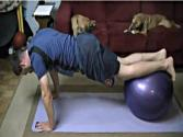 3 Core Stability Ball Exercises