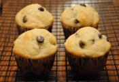 Easy Banana Chocolate Chip Muffin