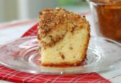 Banana Sour Cream Coffee Cake