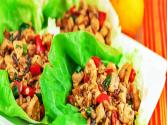 Barbecued Chicken Lettuce Wrap