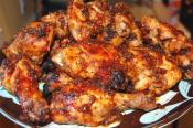 Microwave Barbecued Chicken