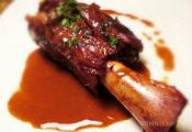 Barbecued Lamb Shanks
