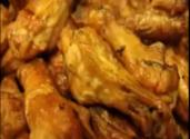Slow Cooked Bbq Buffalo Chicken Wings Over Hickory