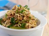 Bean Sprouts And Capsicum Salad (calcium Rich)
