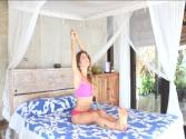 Bed Yoga : Relax And Stretch