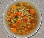 Pearl Barley And Chicken Soup