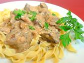 Beef Stroganoff