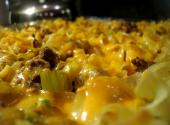 Beef Vegetable Noodle Casserole