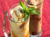 Beer Floats: Ginger Caramel Beer Float &amp; Chocolate Beer Float- A Summer Treat!