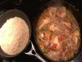 Belizean Stew Chicken With Rice