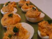 Betty's Bacon And Cheddar Stuffed Eggs