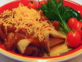 Betty's Baked Shredded Beef And Bean Chimichangas