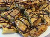 Betty's Chocolate-drizzled Almond-bacon Brittle