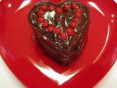 Betty's Individual Heart-shaped Cakes--for Valentine's Day!