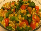 Betty's Roasted Corn And Tomato Salsa