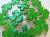 Betty's Shamrock Shortbread Cookies -- St. Patrick's Day