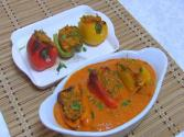 Bharela Simla Mirch - Stuffed Bell Peppers