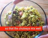 Spicy Bhel Puri