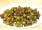 Spicy Bhindi Masala