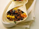 High Protein Bean And Corn Wraps