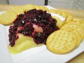 Blackberry Jalapeno Sauce Over Brie By Saucy Mouth