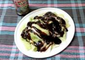 Blanched Chinese Cabbage With Oyster Sauce