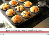Home Baked Blueberry Muffins