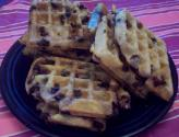 Homemade Blueberry Waffles