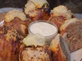 Bacon Meatball Stuffed Onions